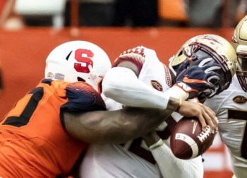 New York Giants Off the Clock: Seventh-Round Pick Defensive Tackle Chris Slayton, Syracuse