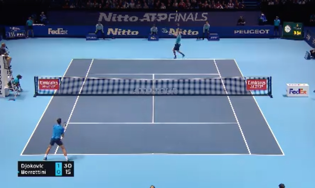 Tennis Highlights: Djokovic Eases Past Berrettini in ATP Finals Opener