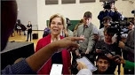 Support For Warren Is Cratering