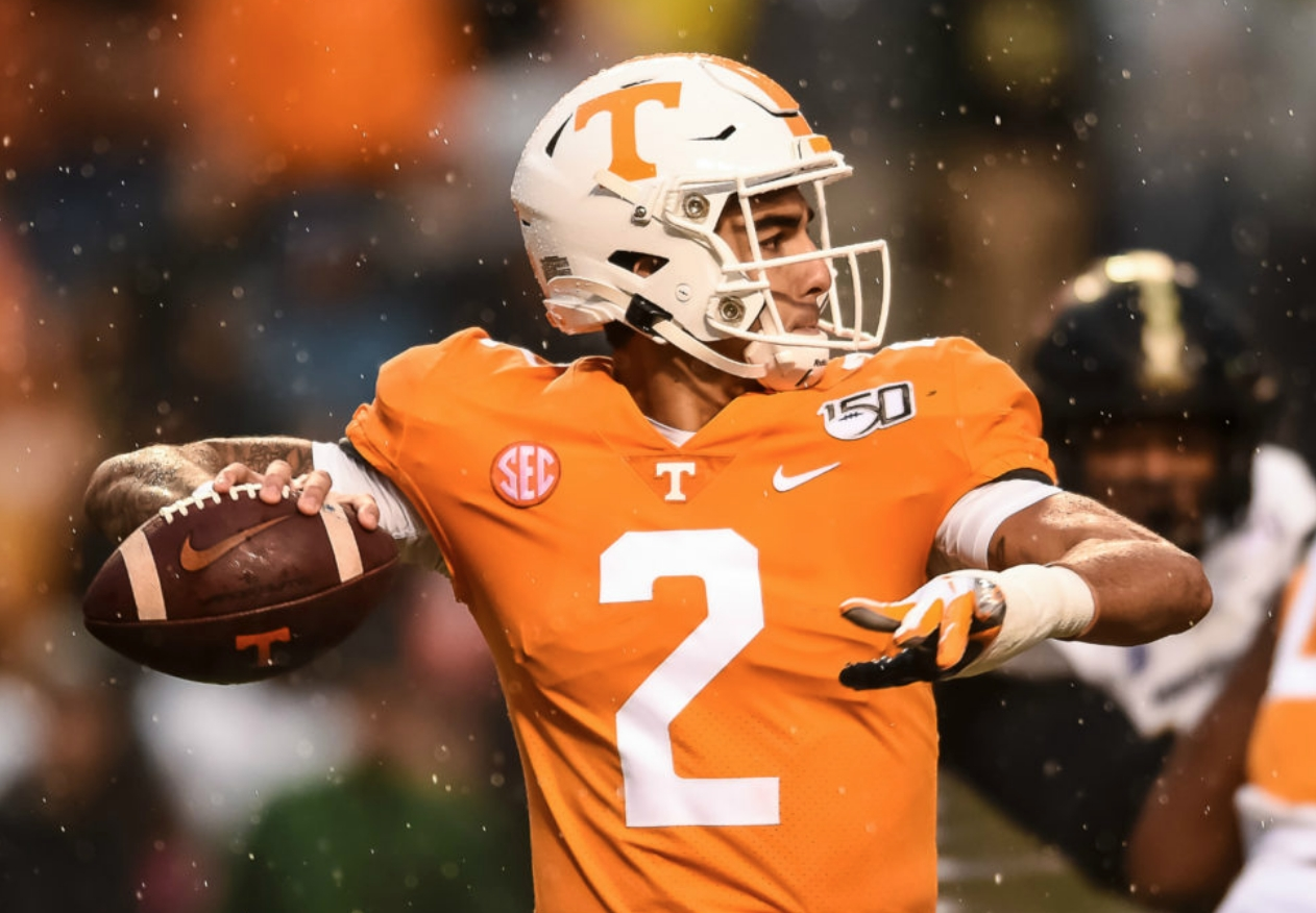 College Football: An Early Look at the TaxSlayer Bowl Matchup Between the Tennessee Vols and Indiana Hoosiers