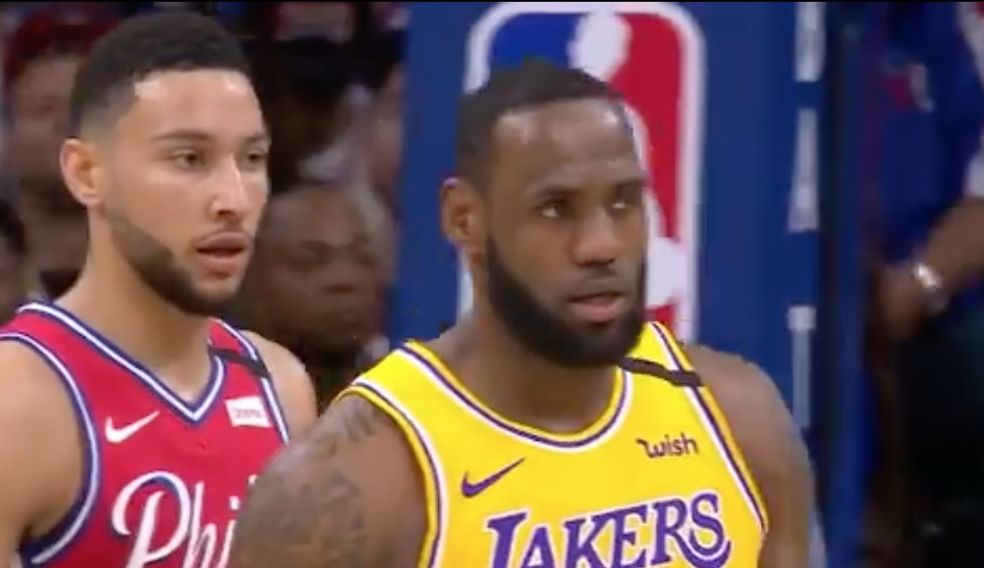 NBA Highlights: Philadelphia 76ers Ben Simmons Spoils Los Angeles Lakers LeBron James's Night With Big Performance