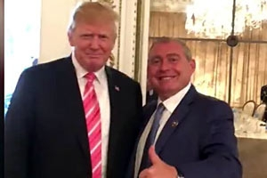 Another Parnas Video Drops Showing Him and Fruman with Trump at Mar-a-Lago Event