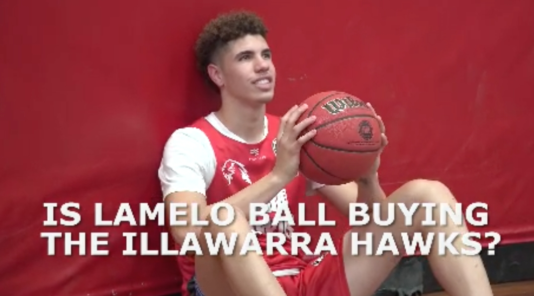 Basketball: Is LaMelo Ball Buying the Hawks?