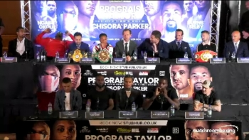 WBSS: Regis Prograis vs. Josh Taylor - Press Conference