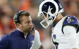 NFL: There's No Excuse, Los Angeles Rams Sean McVay Says He's Got to Do Better