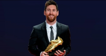 Messi's sixth Golden Boot in numbers