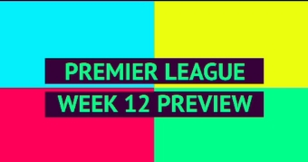 OPTA Premier League Preview - Matchday 12