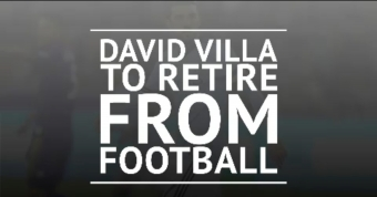 David Villa to retire from football
