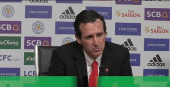 Man United and Tottenham are behind Arsenal - Emery