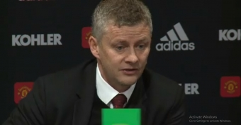 Ole urges United fans to stick with team