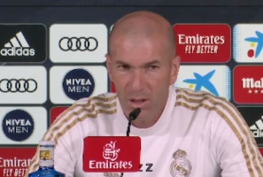 Champions League: Zidane Reacts to Man City's Ban