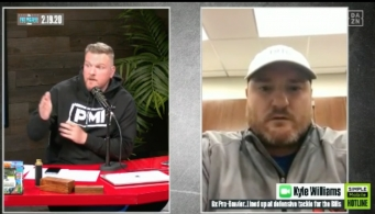 NFL Draft: Pat McAfee and Kyle Williams Discuss Joe Burrow's Future