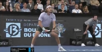 Tsitsipas goes back-to-back in Marseille