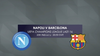 Champions League: Napoli v Barcelona H2H Preview