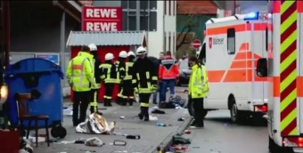 Dozens hurt as car plows into German carnival