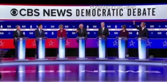 Rivals take aim at Sanders' electability at Democratic debate