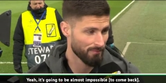 We have to believe in second leg comeback at Bayern - Chelsea stars Giroud