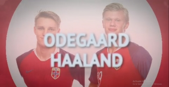 Odegaard vs Haaland - Norway's young guns