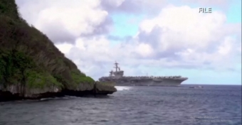 Guam governor says she has 'moral obligation' to help sailors