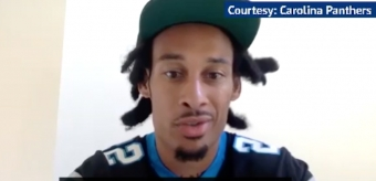 NFL: New Carolina Panthers Signing Robby Anderson Explains Life in Quarantine