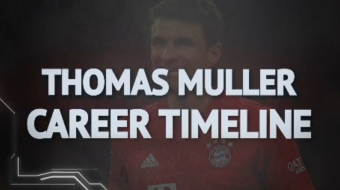 Bundesliga: Thomas Muller's career timeline at Bayern Munich