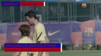 La Liga: Barca Ramp Up Training as La Liga Restart Creeps Closer