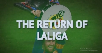 Garcia, Forlan and Mendieta relsihing LaLiga return