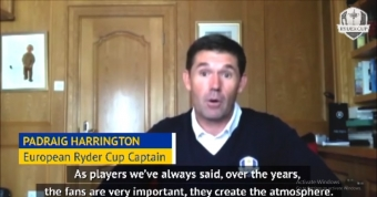 We realise how much fans make the Ryder Cup after postponement - Harrington