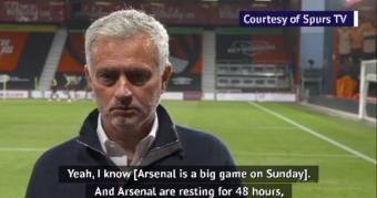 'Magnificent' way to promote London derby - Mourinho bemoans Spurs schedule