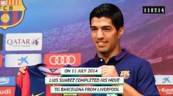 La Liga On this Day: Luis Suarez Signs With Barcelona