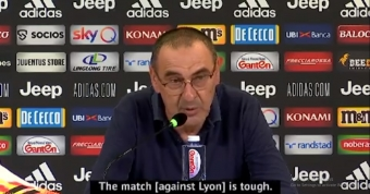 Juve must fix defence for Lyon second leg - Sarri