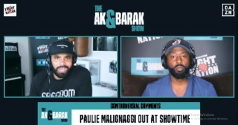Paulie Malignaggi's comments on race 'insulting'