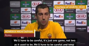 Roma must not lose their cool in Europa League - Mkhitaryan