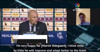 Zidane gives Odegaard debut as undercooked Real Madrid draw at Sociedad