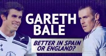 Gareth Bale - Better in England or Spain?