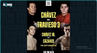 Julio Cesar Chavez Jr reflects on career path and upcoming fight against Mario