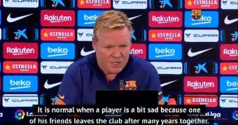 Koeman plays down plays down Messi's criticism of Barcelona hierarchy