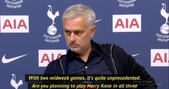 Mourinho doesn't think Tottenham can fight for EFL Cup