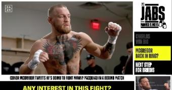 Conor McGregor tweets he's going to fight Manny Pacquiao in a boxing match
