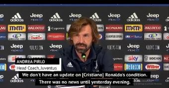 Pirlo unsure of Ronaldo's COVID condition