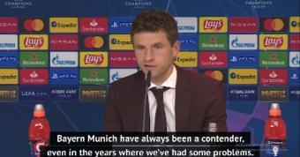 Muller and Flick back Bayern for more Champions League success