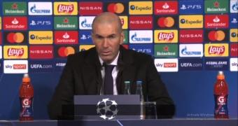 Zidane confident Real can advance despite second Champions League setback