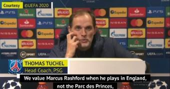 Tuchel admires Rashford ahead of United clash