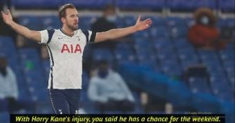 Mystic Mourinho 'has a feeling' that injured Kane will be fit for North London derby