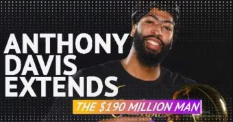 Anthony Davis Extends: The million dollar man