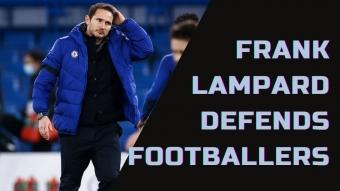 Chelseas Frank Lampard Defends Footballers in COVID Celebrations Row | Soccer