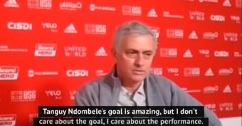 Ndombele 'responsible' for Spurs turnaround - Mourinho