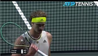 Zverev suffers shock defeat to Bublik in Rotterdam