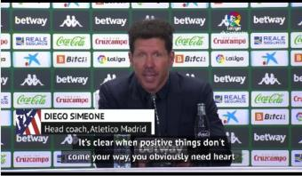 Simeone confident Atletico can hold on for LaLiga title