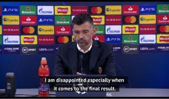 Conceicao 'proud' of Porto despite exit against Chelsea